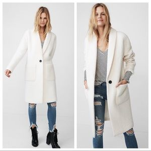 NWT   Express Wool Cocoon Coat